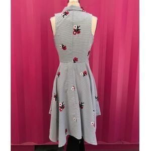 8c4466831286 Eva Franco Dresses - Eva Franco - Cherry Blossom Stripe Dress